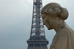 The Eiffel Tower and La Femme