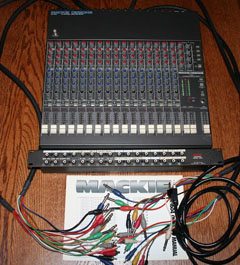 Mackie CR-1604 with everything shown – $325