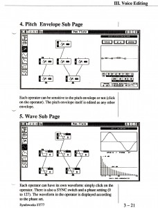 a page from the synthworks sy77 manual