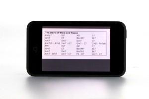 ipod chart reader