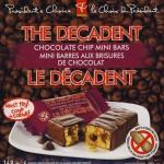 The Decadent Chocolate Chip Mini Bars