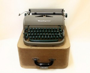 1950s era Remington portable typewriter