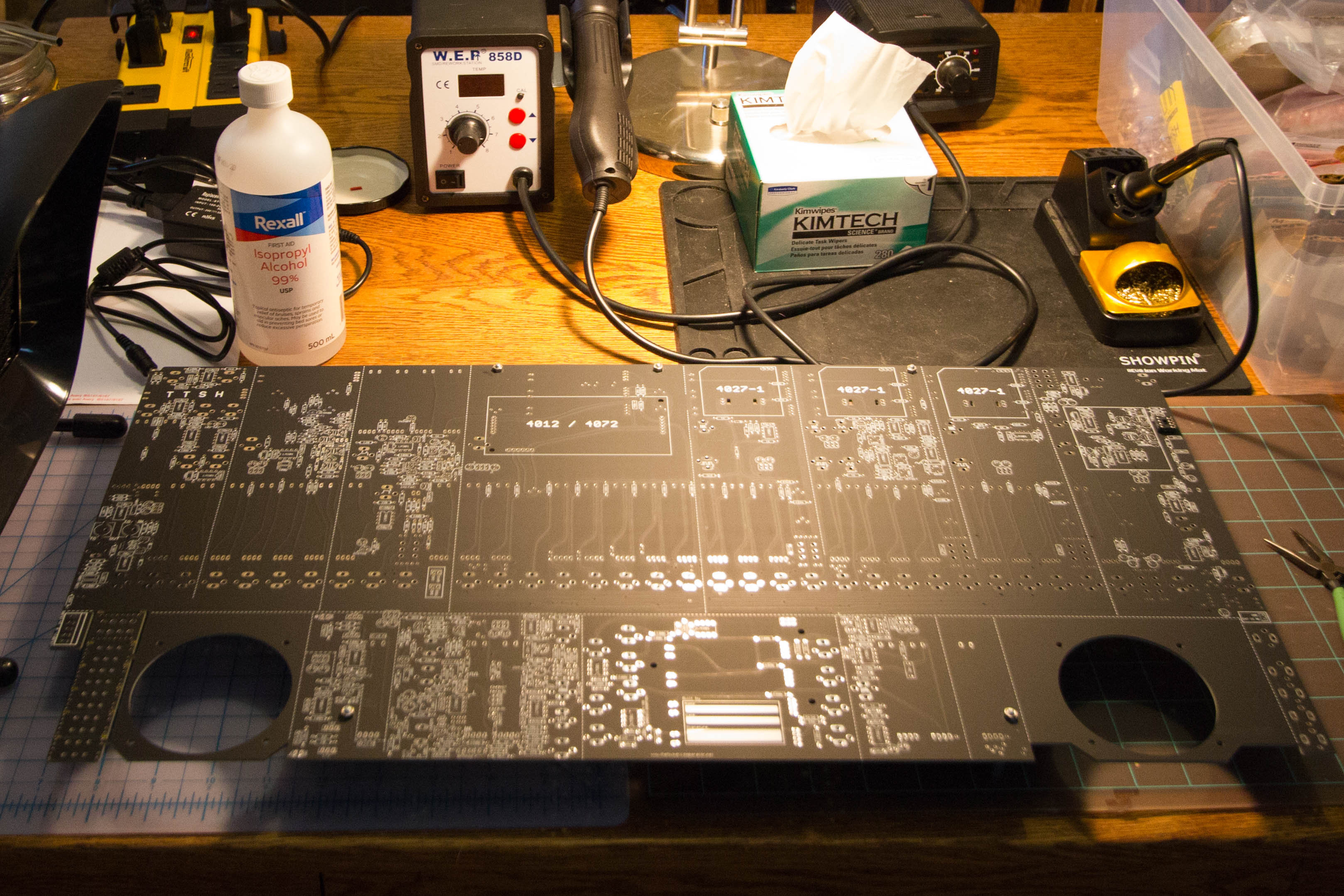 TTSH Mainboard ready for stuffing